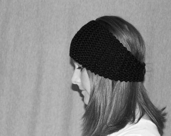 Womens Knit Headband or Ear Warmer; You Choose Color; 65 Colors Available; Custom Made; Made to Order