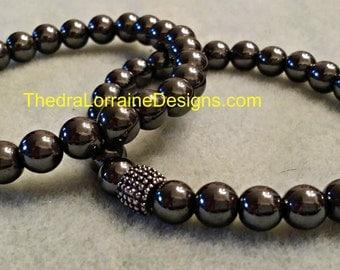 Metallic - Thedra Lorraine ManBead Bracelets