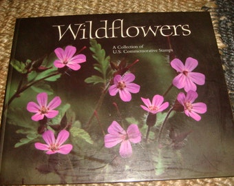 1992 Copy WILDFLOWERS A collection of US Commemorative Stamps Flower Details