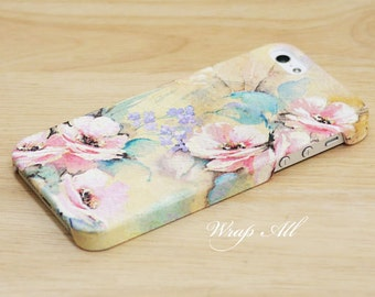 Pastel Floral iPhone case iPhone SE case iPhone 6S case iPhone 6 case iPhone 6S Plus case iPhone 6 Plus case iPhone 5S case iPhone 4S case