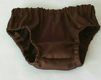 Diaper Cover, Brown Diaper Cover, Chocolate Diaper Cover, Made to Order