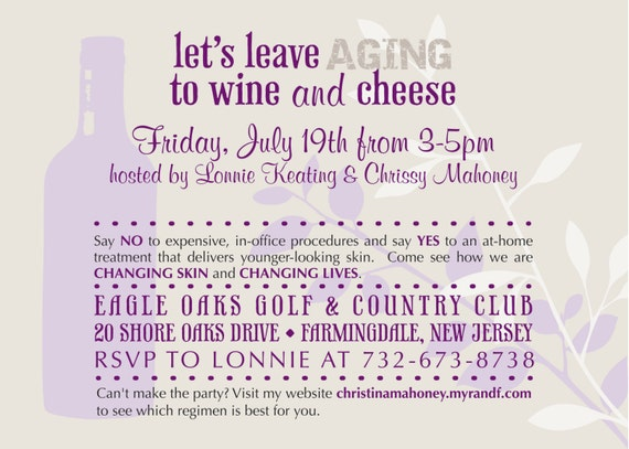 Wine And Cheese Party Invitations is luxury invitations layout