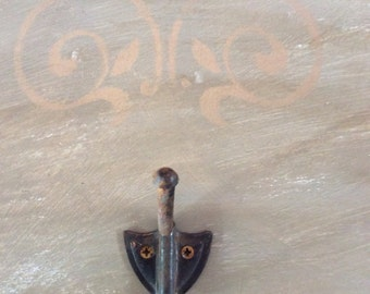 Wall Hooks Vintage Chalk Paint
