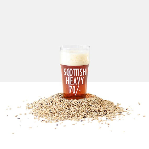 Scottish Heavy 70/- 1 Gallon Beer Making Recipe Refill Kit - Brew in a Bag
