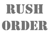 Rush order - Faster creation - 3-5 days creation time