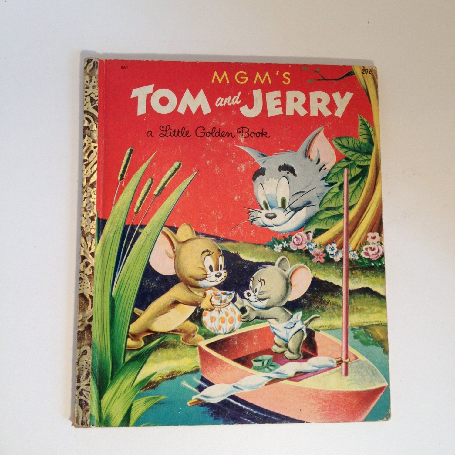 Tom And Jerry Christmas Tree: MGM's Tom And Jerry A Little Golden Book 561 29 By