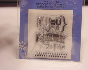 your special clear stamp set, 45-50 mm