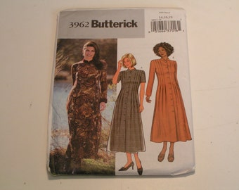Butterick Pattern 3962 Miss Petite Dress