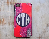 Personalized iPhone or Samsung Galaxy S3 Case, iPhone 4/4S, iPhone 5, iPhone 6, Samsung Galaxy S3, Lilly Pulitzer Inspired Phone Case, LP4