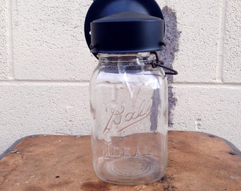 Mason Jar, Wall Sconce, Mason jar light