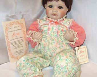 Vintage Doll The Hamilton Collection Sara 1990