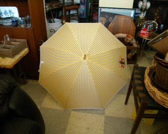 Vintage Giorgio Designer Promotional  Umbrella