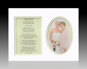 Wedding To My Step-Mother Personalized Poem Bride Groom Bridal Party ...