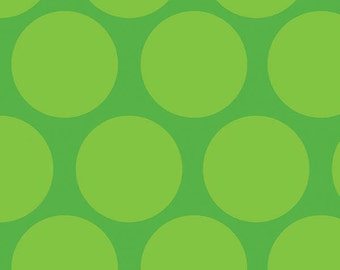 Camelot Cottons fabric Green Tone-on-Tone DOTS