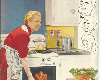 Vintage 1940's Food Is Fun Cookbook