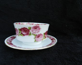 Appetizer Dish: Hand decorated porcelain