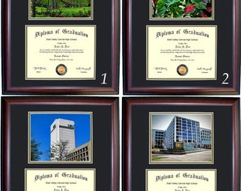Cleveland State Diploma Frame
