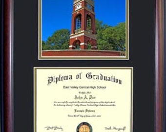 East Tennessee State Diploma Frame