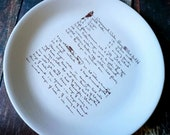 the ultimate giving plate with your loved ones handwriting