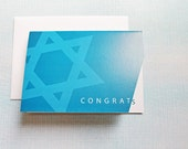 BRIS CONGRATULATIONS CARD — Funny Bris Card, Brit Milah, Mazel Tov, Judaism, Jewish, Baby Boy, Corner Cut