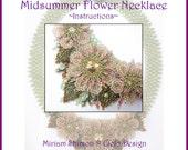 Midsummer Flower Necklace Instructions