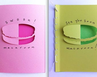 Macaroon Cards