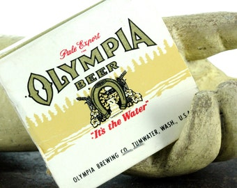 OLY Olympia Beer Collectible Matchbook