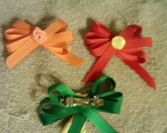 Two barrettes great price!!