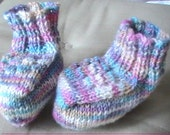 PDF pattern Sock yarn Baby Bootees
