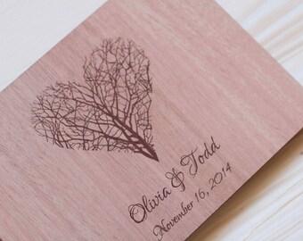 Wedding Guest Book Wedding Guestbook Custom Guest Book Rustic Guestbook Personalized Customized Custom Design Wedding Gift Keepsake Rustic