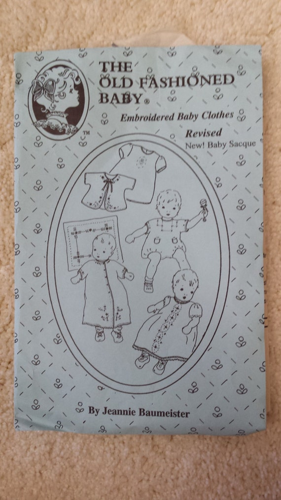 Embroidered Baby Clothes by The Old Fashioned by ThatsSewMarti