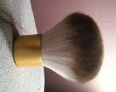 Goat Hair Kabuki Brush for Mineral Makeup & Veil.