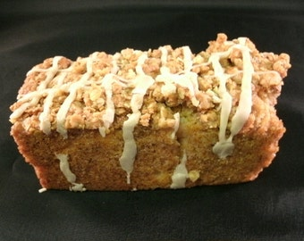 Apple bread Cinnamon Sugar topped, Homemade Moist & Delicious Apple bread