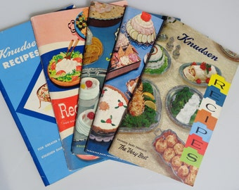 5 Knudsens Recipe books