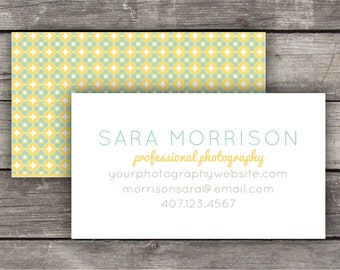 Printable Business Cards / Calling Cards - Stained Glass