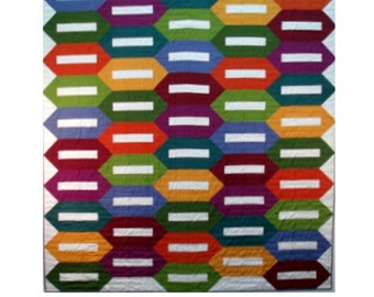 Bolts Quilt Pattern