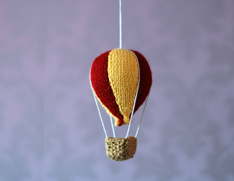 Baby Mobile Hot Air Balloon Nursery Decor Easy By Deniza17
