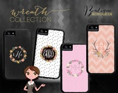 Custom Monogrammed Xtreme Cases, Iphone 6, Iphone 6s, Iphone 5, Iphone 5s (comparable to Otterbox brand)