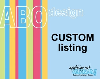 Customized Printable Item