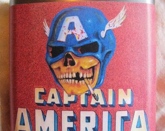 Captain America Flask- FREE SHIPPING