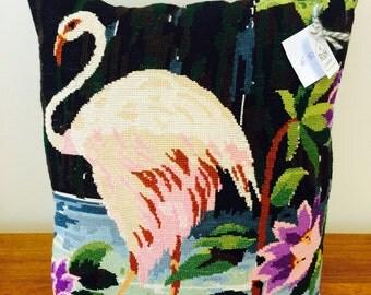 Flamingo kussen (deel 1)