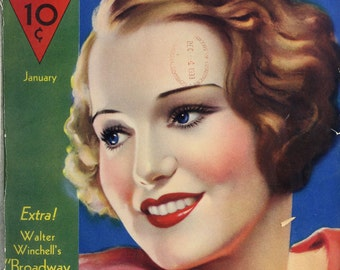 50 Vintage HOLLYWOOD Magazine 1934-1938 {.pdf on DVD} Golden Age of Hollywood Vol.# 01