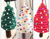 Xmas  Tree Ornaments Crochet Pattern