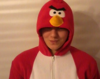 Angry birds onesie - adult size