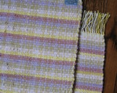 Two Pearl Tone Luncheon Placemats Handwoven