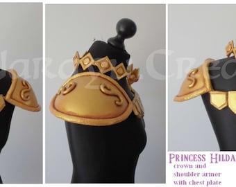 Princess Hilda accessories set