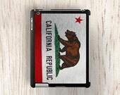 Metallic California Flag iPad 2 Case - 3rd / 4th Generation