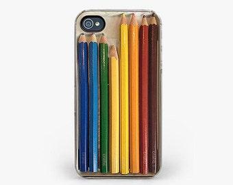 Color Pencils Set IPHONE CASE | iPhone 6 / 6S | iPhone 6 / 6S PLUS | iPhone 5 / 5S | iPhone 5C | iPhone 4 / 4S | Realistic, Artsy, Artistic
