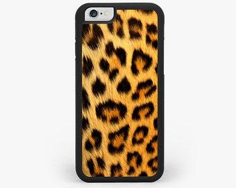 IPHONE 6 Plus CASE, iPhone 6 Cover, Leopard Print iPhone Case