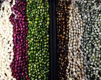 Shell nugget beads, around 12-15mm 25 beads